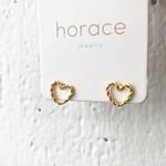 Horace Jewelry Horace boucles d'oreilles HERZO