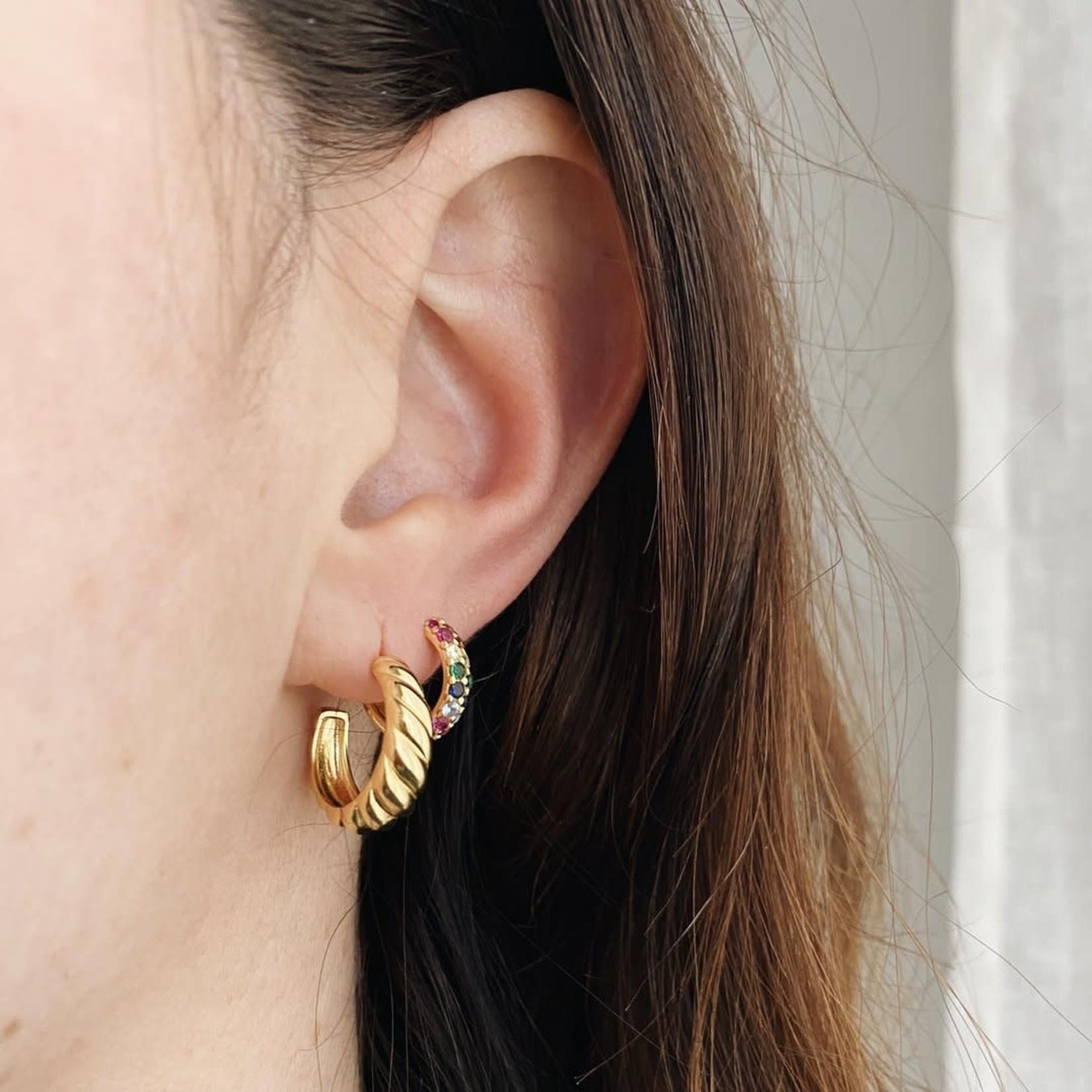 Horace Jewelry Horace boucle d'oreilles CRESSA or