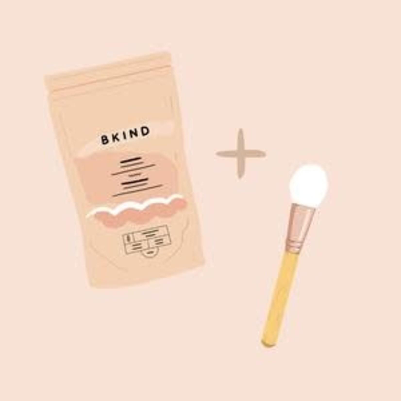 BKIND BKIND masque film hibiscus et argile rose