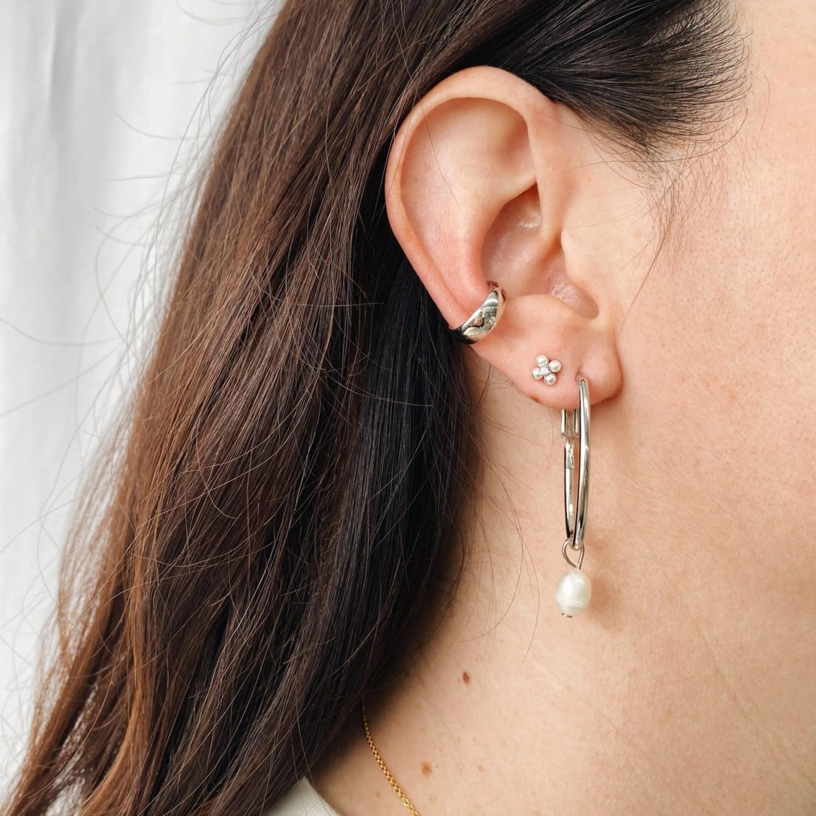 Horace Jewelry Horace fausse boucle d'oreille BOLD ARGENT