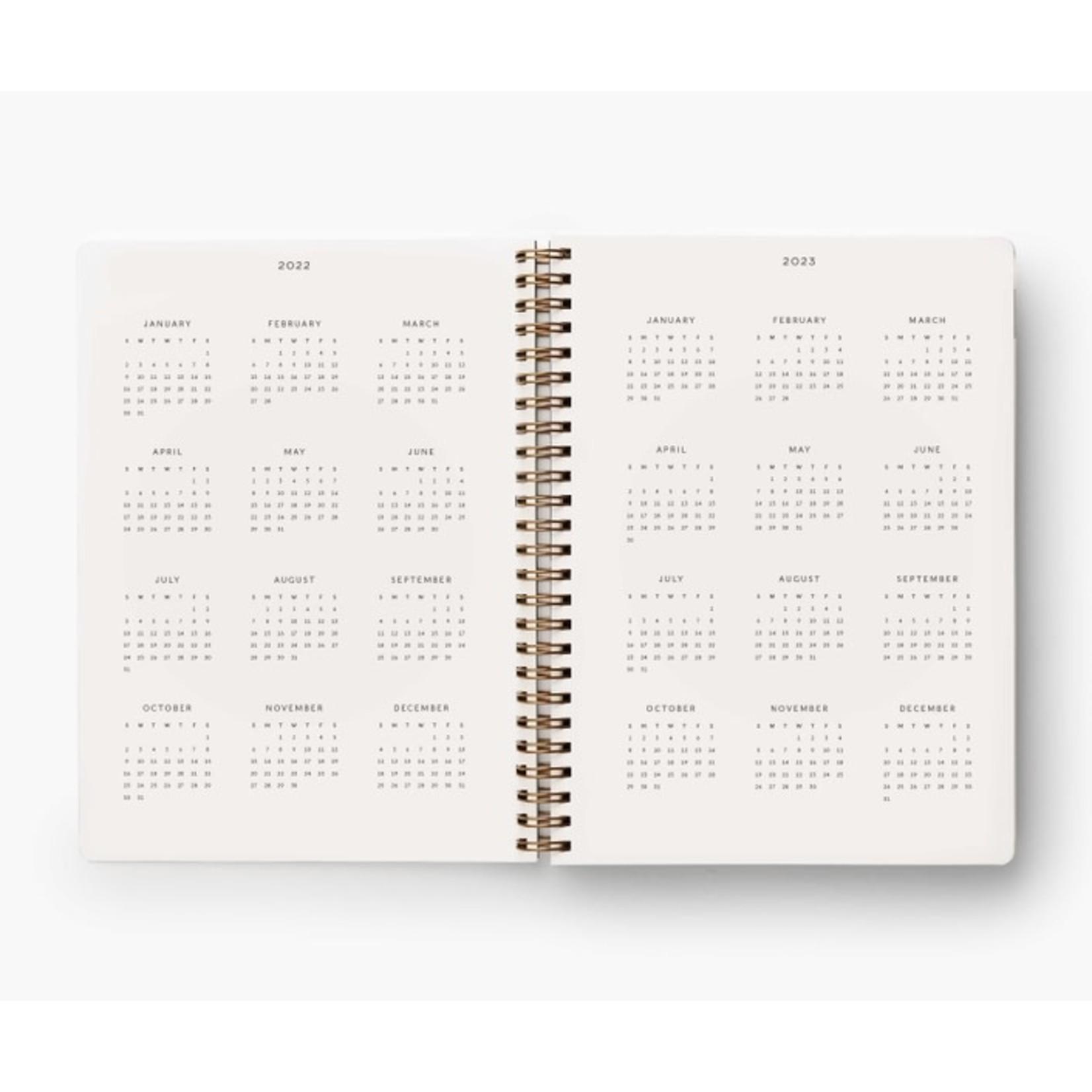 Rifle Paper Co. Agenda planificateur 2022 - Marguerite
