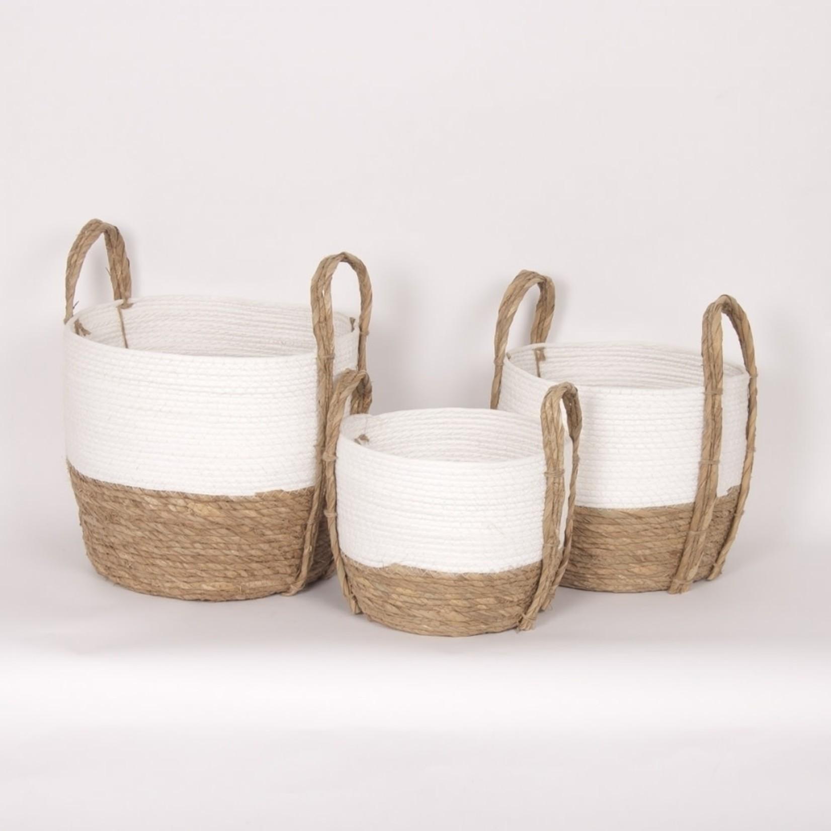 Bacon Basketware Limited Panier WHITE III
