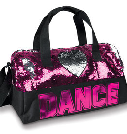 Danshuz Sequin Dance Heart Duffel B842