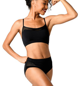 Mesh Trim Sports Bra Top 19303C