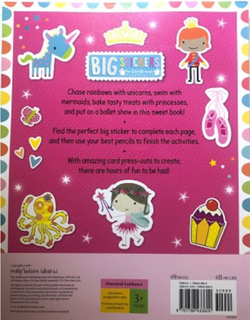 Big Stickers for Little Hands Book