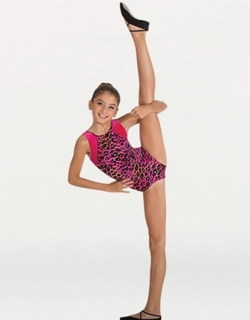 Body Wrappers Open Back Gymnastics Leo 2272