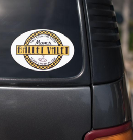 covet Ballet Vallet Car Sticker