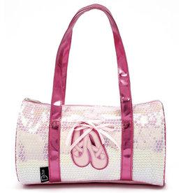 Dasha Ballet Shoes Sequin Duffel 4902