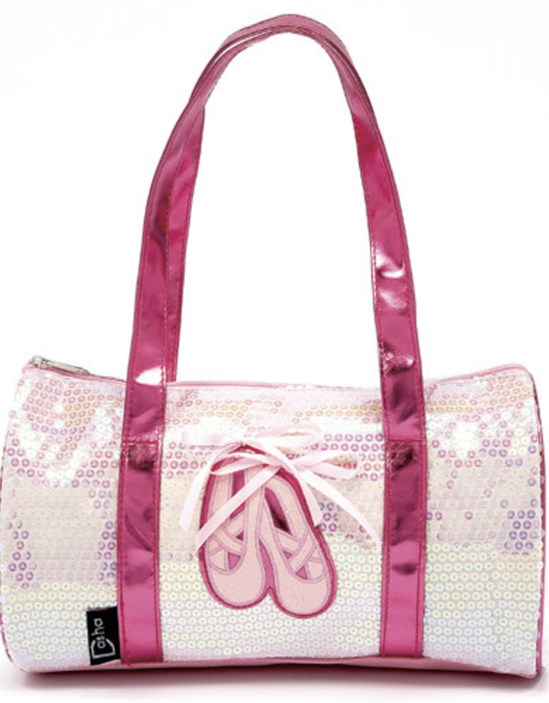 Dasha Ballet Shoes Sequin Duffel 4902