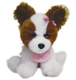 Dasha Papillion Puppy Plush 6268