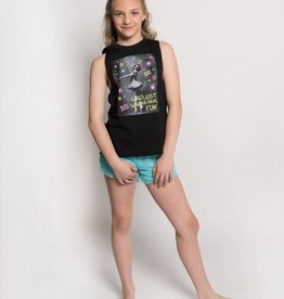Sugar & Bruno Girls Metro Tank Girls Just Wanna D9059