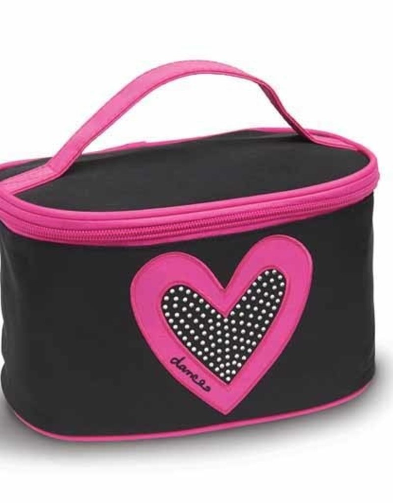 Danshuz I HEART DANCE MAKE-UP CASE B472