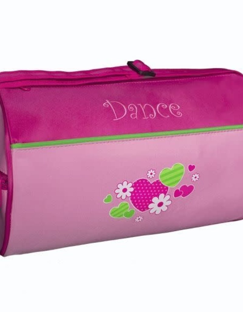 Hearts and Flowers Dance Duffel HNF-02