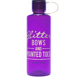 Sugar & Bruno Glitter Bows Bottle