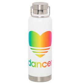 Sugar & Bruno Colorful Heart Dancer Water Bottle D9483