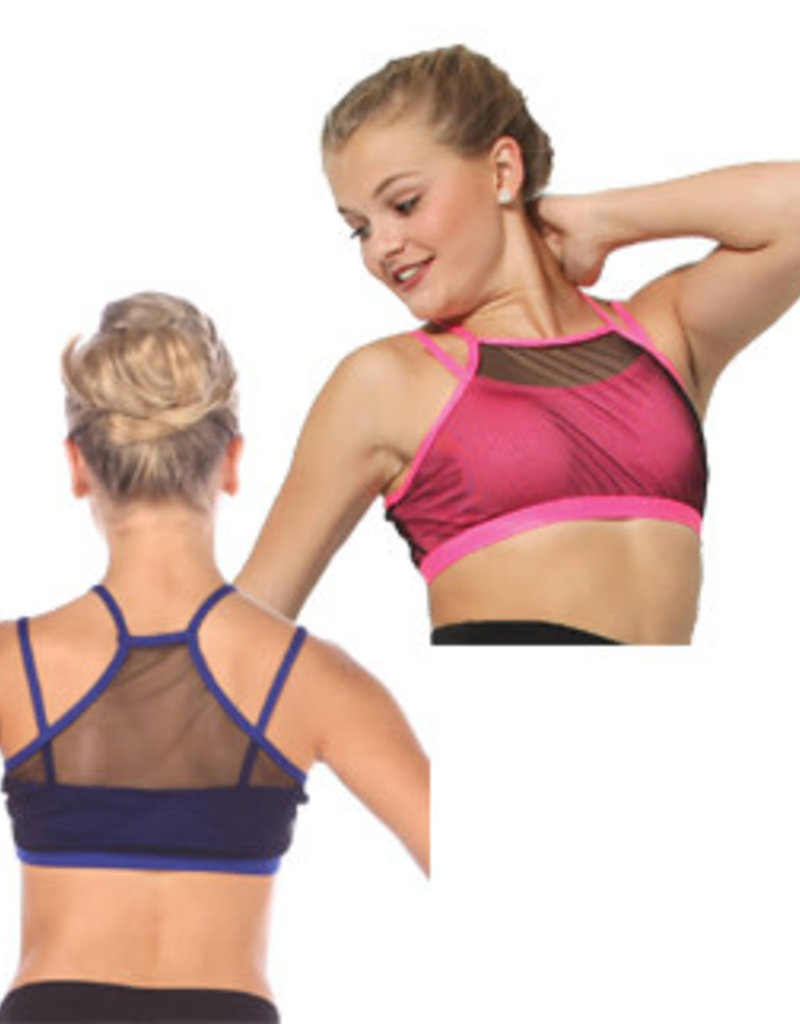 Body Wrappers Child Cami Mesh Bra Top MT125