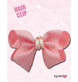 Dots and Slippers Bow Pink 78750