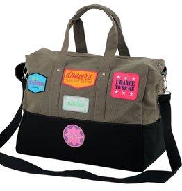 Patch Dance Bag Gry/Blk