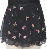 "Dasha Print Wrap Skirt 12"" 4491"
