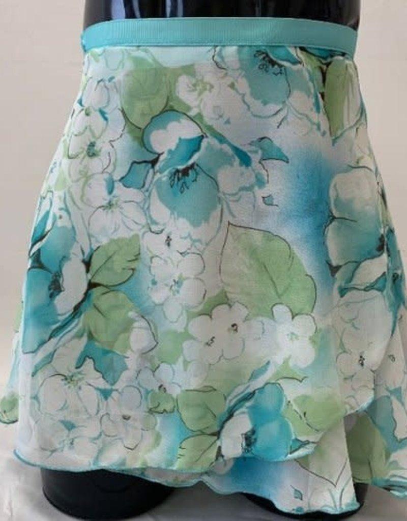 Dasha Print Wrap Skirt 4481