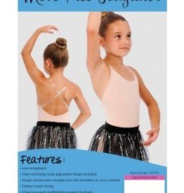 q-t intimates Youth Move Free Bodyliner 1357NS 6X-7