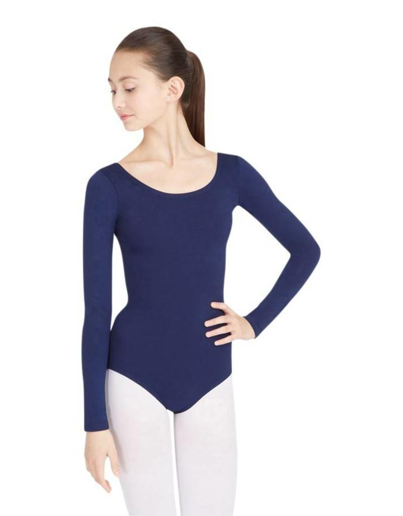 Capezio Long Sleeve Supplex Leotard TB135