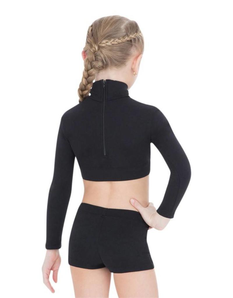 Capezio Child Turtleneck  Crop TB107C