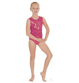 Eurotard Holographic Waves Leotard 3215C