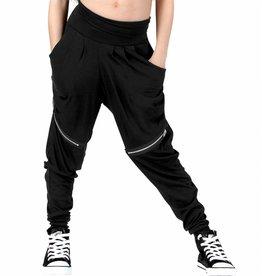 Funky Diva Harem Pants 0206 Girls Blk