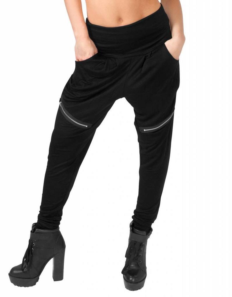 Funky Diva Harem Pants 0206 BLK Ladies