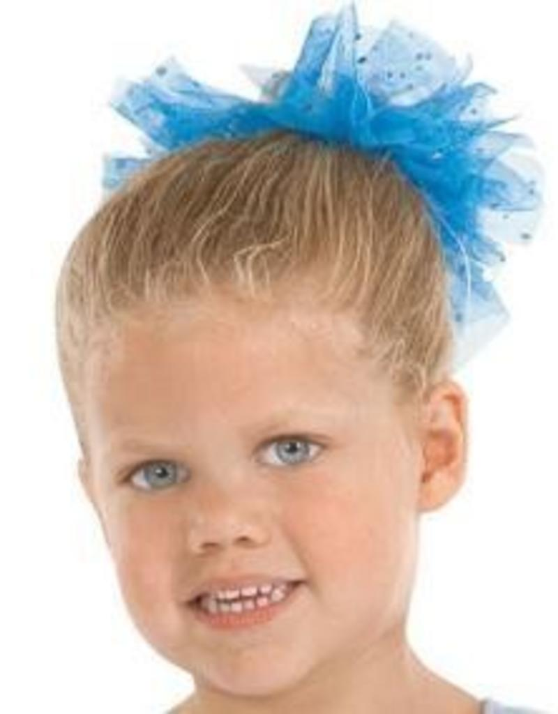 Eurotard Sparkle Tulle Scrunchie 02172