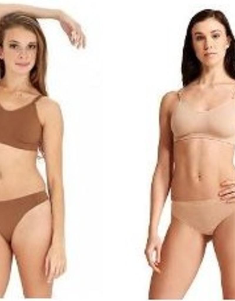 Capezio Seamless Thong Undergarment 3678