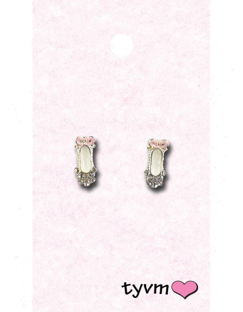 Ballet Shoe Earrings 77626 TYVM