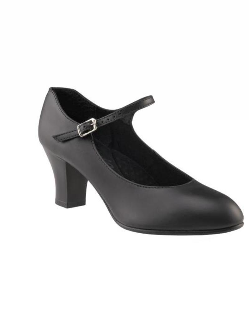 "Capezio Student Footlight Leather 2"" 650"