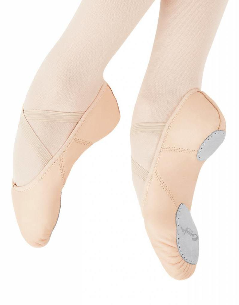 Capezio Juliet Leather Child 2027C Pnk W