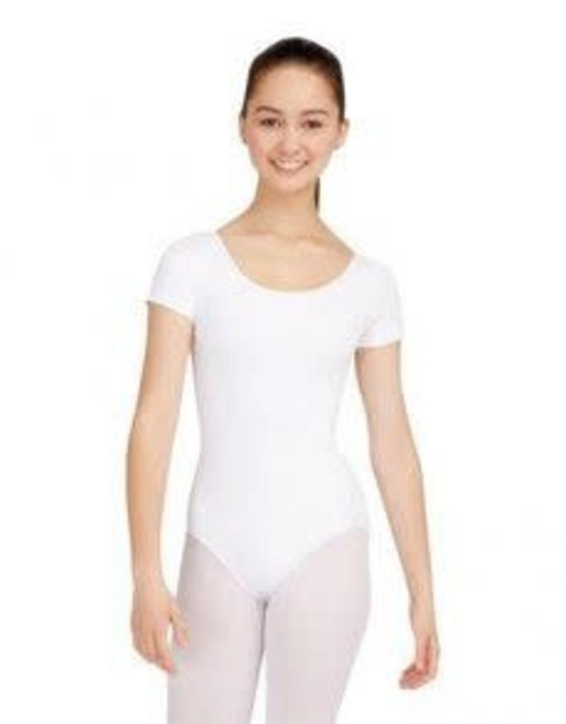 Capezio Girls Short Sleeve Cotton Leotard CC400C