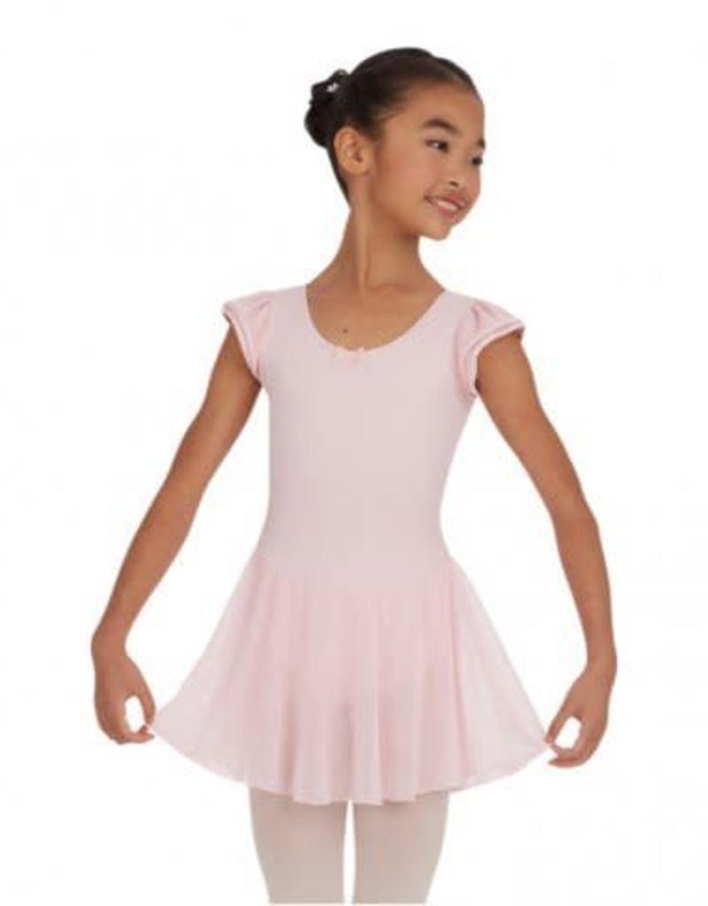 Capezio Flutter Sleeve Dress 3973C