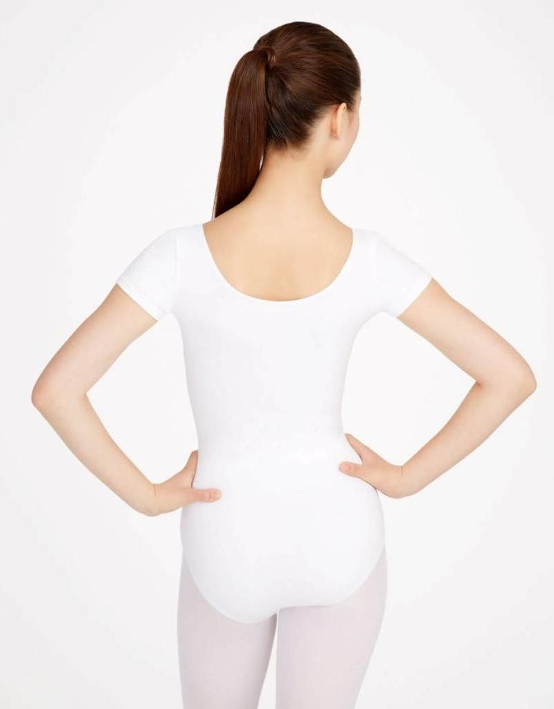 Capezio Short Sleeve Cotton Leotard CC400