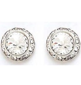 13mm Swarovski Crystal Earrings