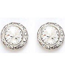 Dasha 13mm Swarovski Crystal Earrings
