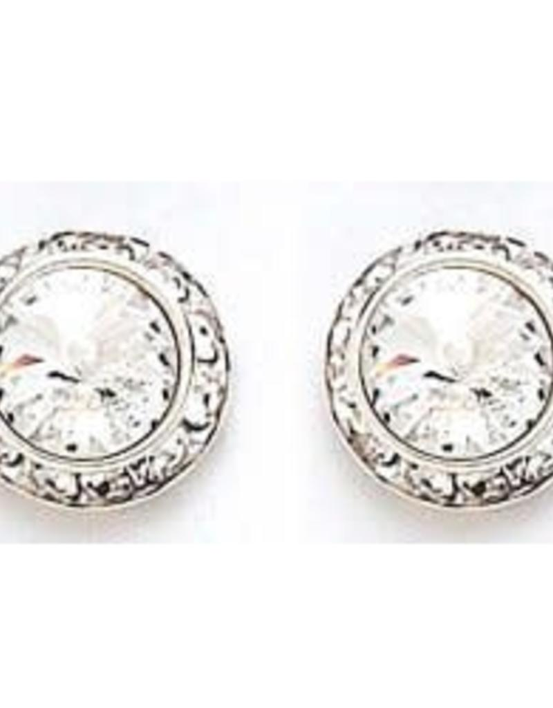 13mm Swarovski Crystal Earrings 2712