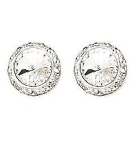 17mm Swarovki Crystal Earrings
