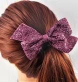 Missy Moo Glitter Bow