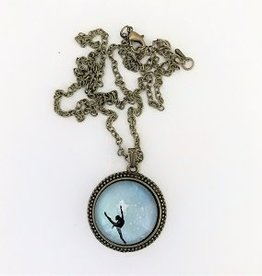 Ballerina Pendant Necklace