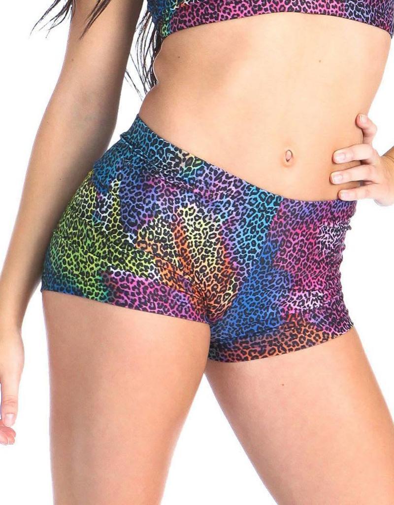 Gia Mia Print Booty Shorts G151