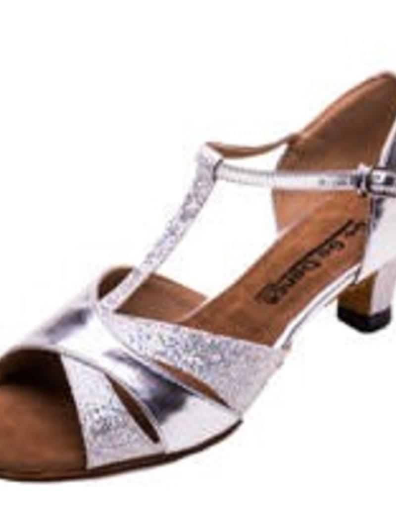 """Stephanie GO7272 Silver Sparkle 1.3"""""""