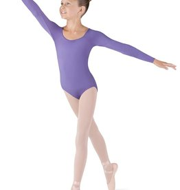 Bloch Girls Microlux Long Sleeve Leotard