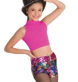Body Wrappers Girls Mock Neck Pullover BWP063