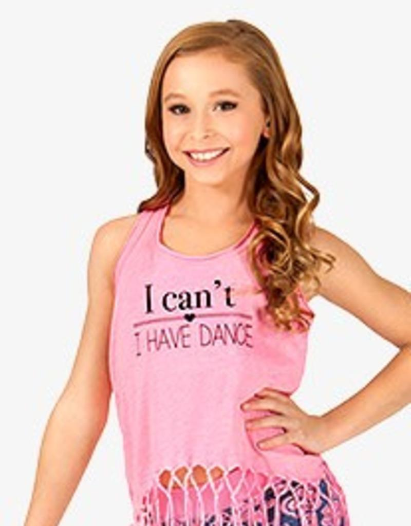 Trendy Trends Fringe I Can't Youth Tank GJP0623