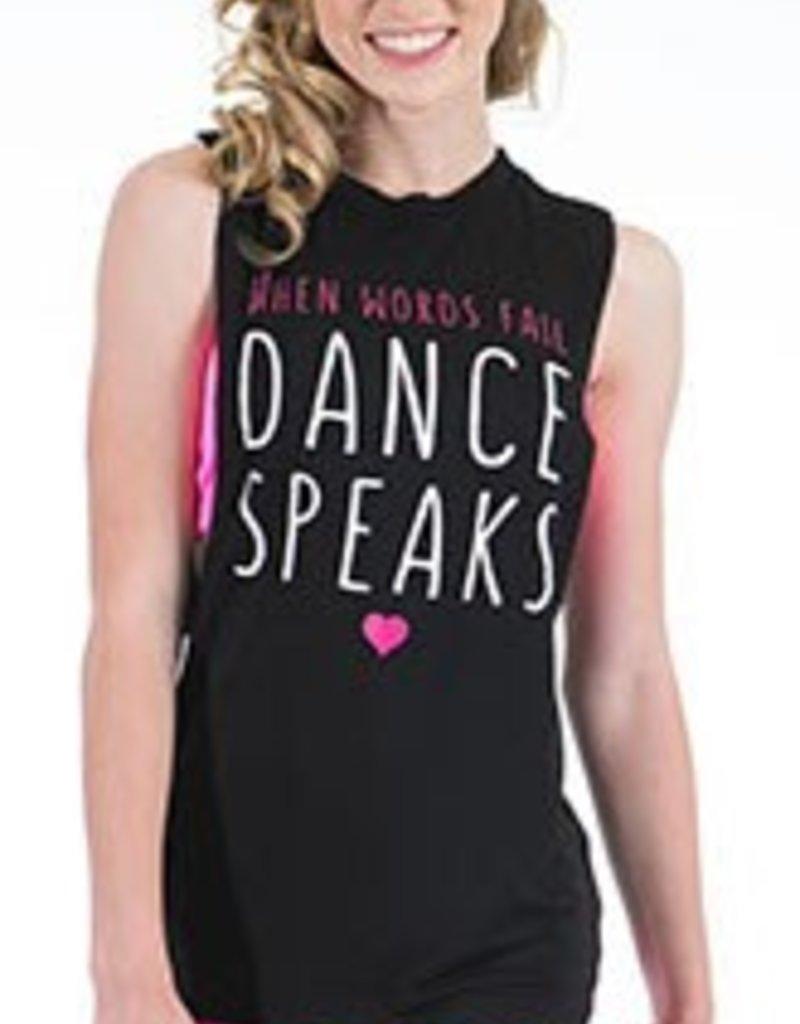 Gia Mia Dance Speaks Tank G297